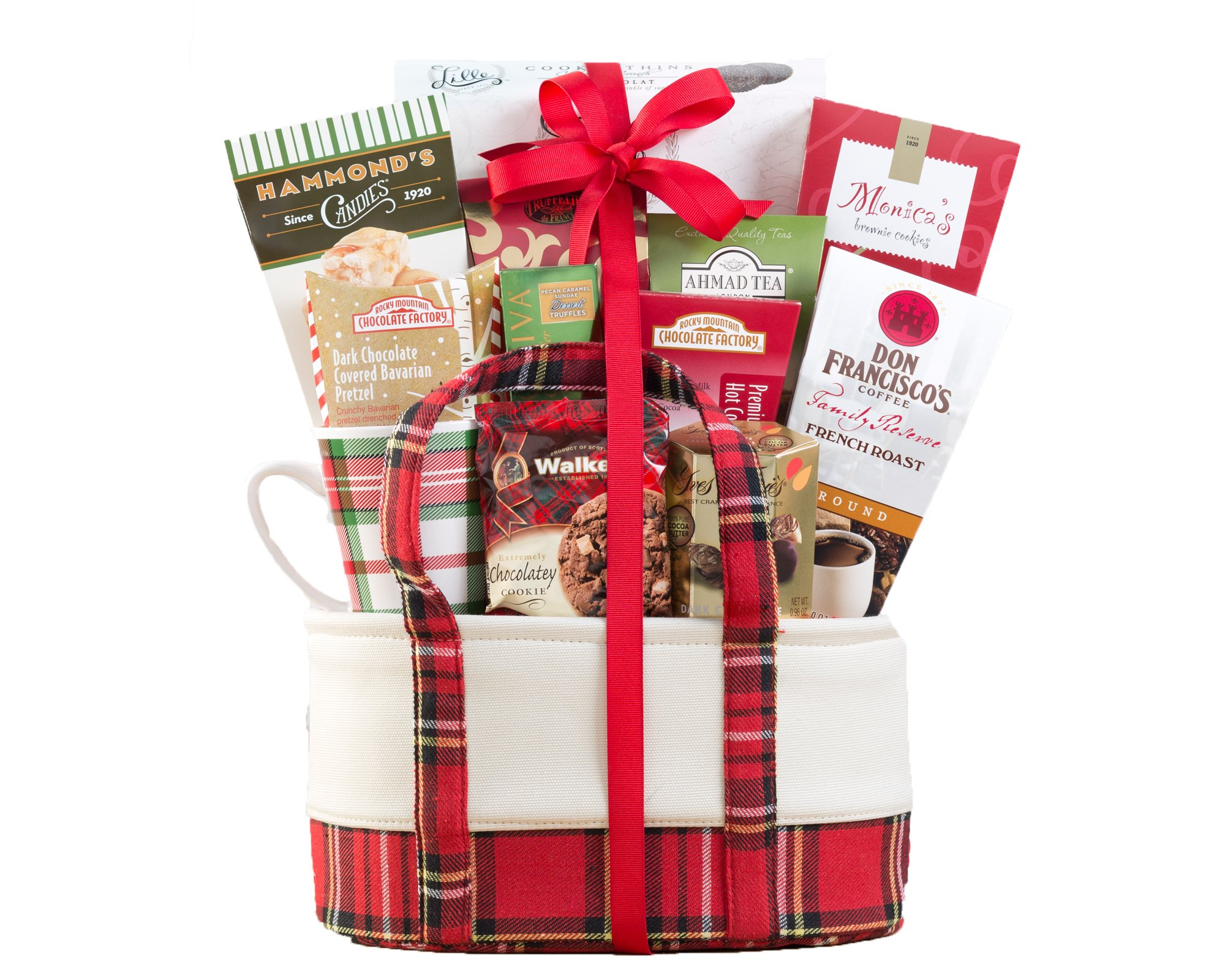 wine country gift baskets chocolate and snack