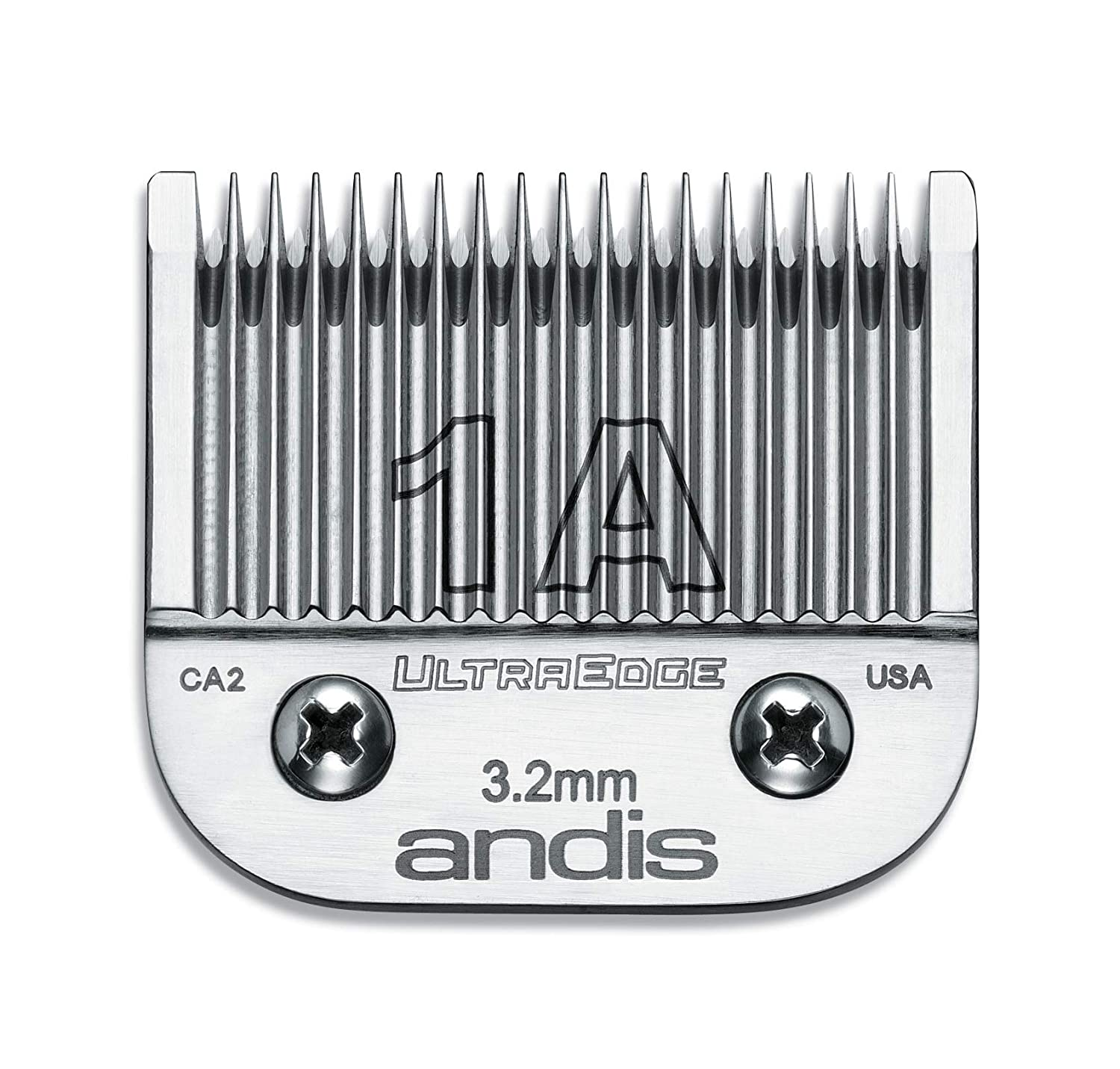 Andis 64205 UltraEdge Carbon-Infused Steel Clipper Blade, Size 1A, 1/8-Inch Cut Length