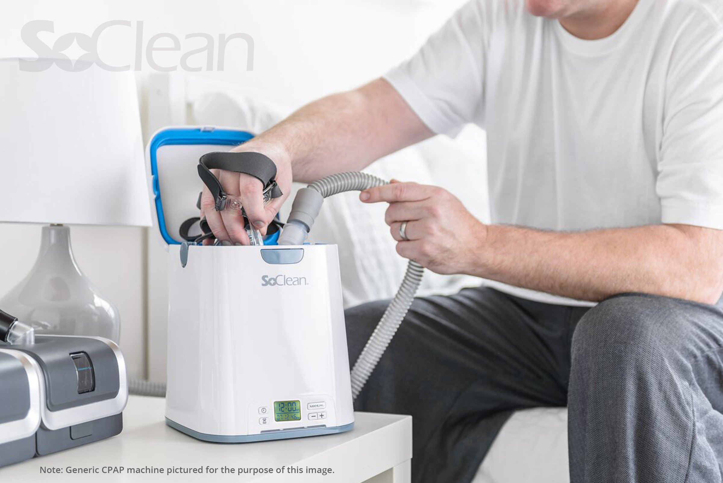 SoClean 2 + ResMed S9 Adapter (SoClean 2 CPAP Cleaner and Sanitizer Bundle with Free Adapter) by SoClean (Image #7)