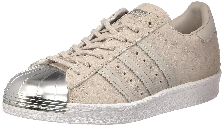 adidas Originals Women's ' Superstar 80' Metal Toe Trainers US8.5 Grey