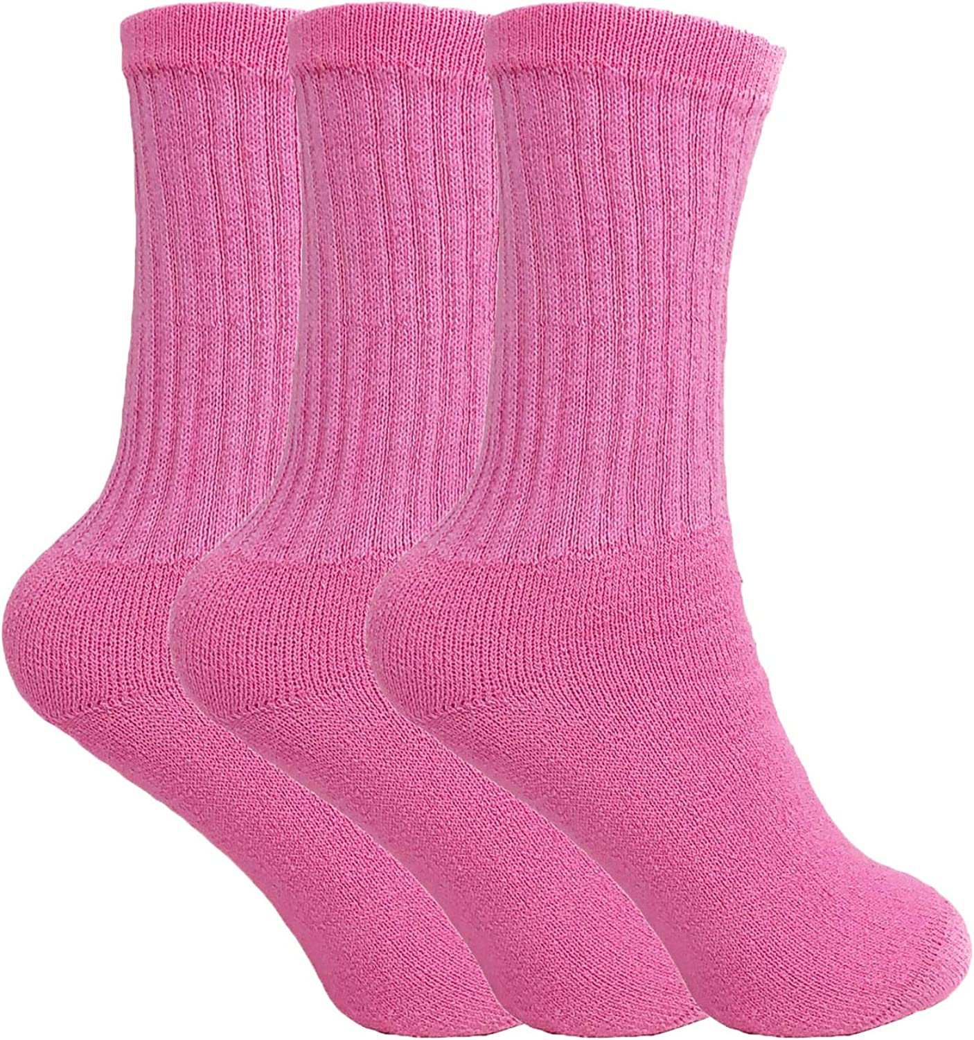 Vintage Style Socks- Knee High, Bobby, Anklet Cotton Crew Socks for Women Made in USA Smooth Toe Seam Socks $16.99 AT vintagedancer.com