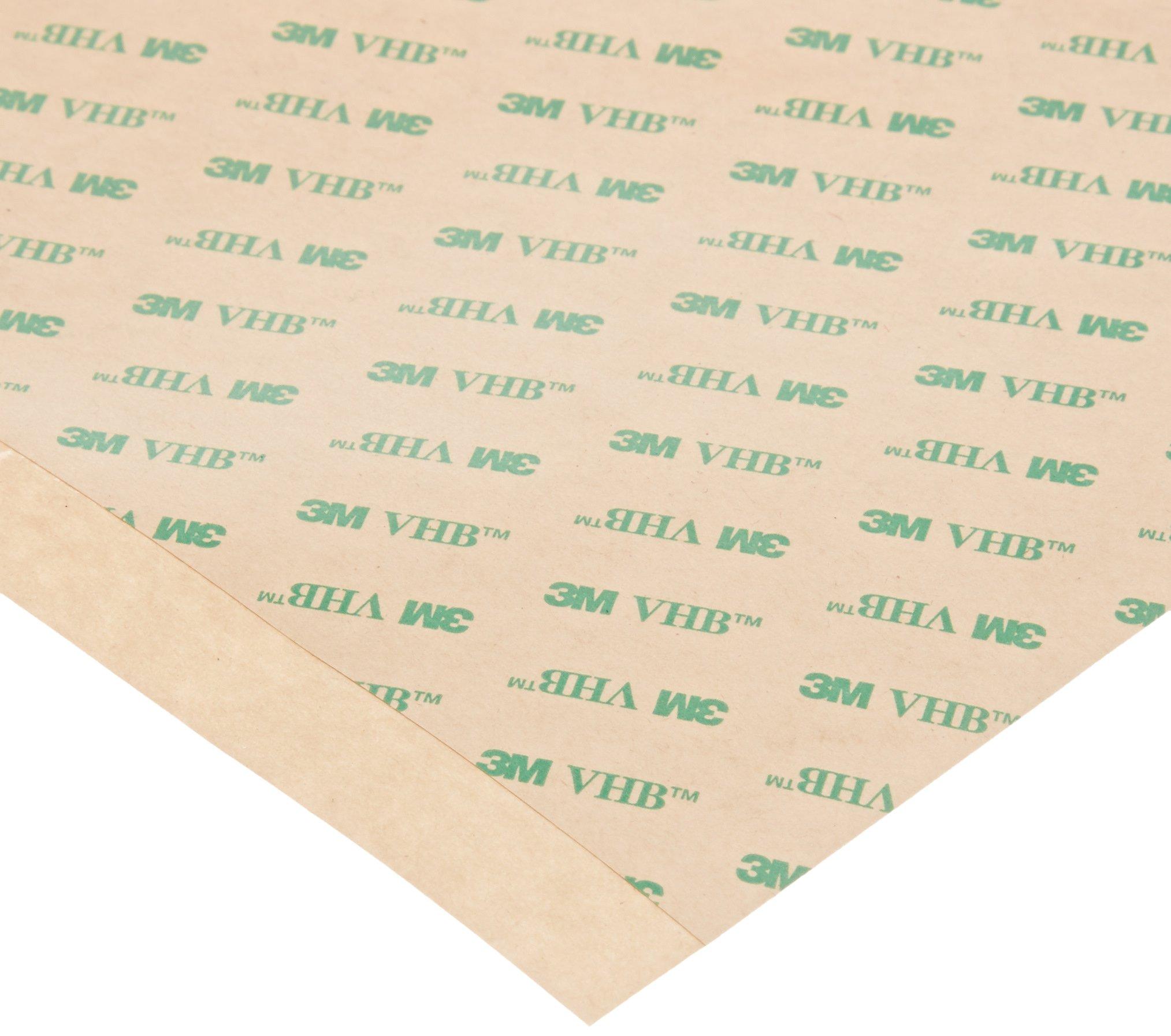 3M VHB Tape F9460PC 12 in width x 12 in length (6 per pack) (1 Pack)