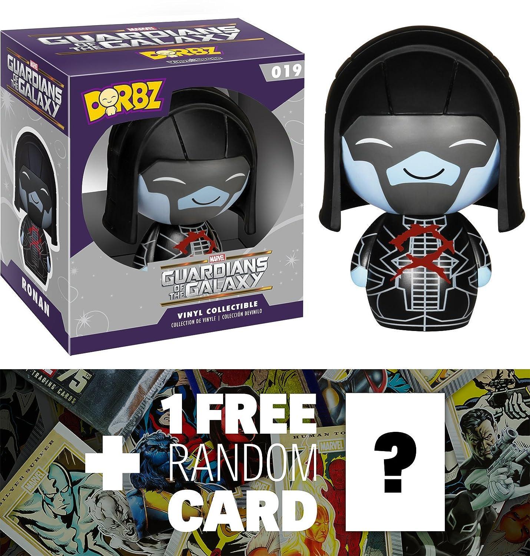 59422 1 FREE Official Marvel Trading Card Bundle Funko Dorbz x Guardians of the Galaxy Mini Vinyl Figure Ronan