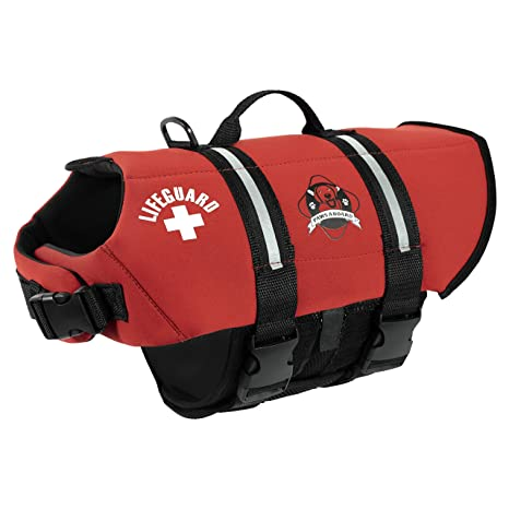 ac411bb631 Paws aboard dog Neoprene life jacket XXS 2-6Lbs