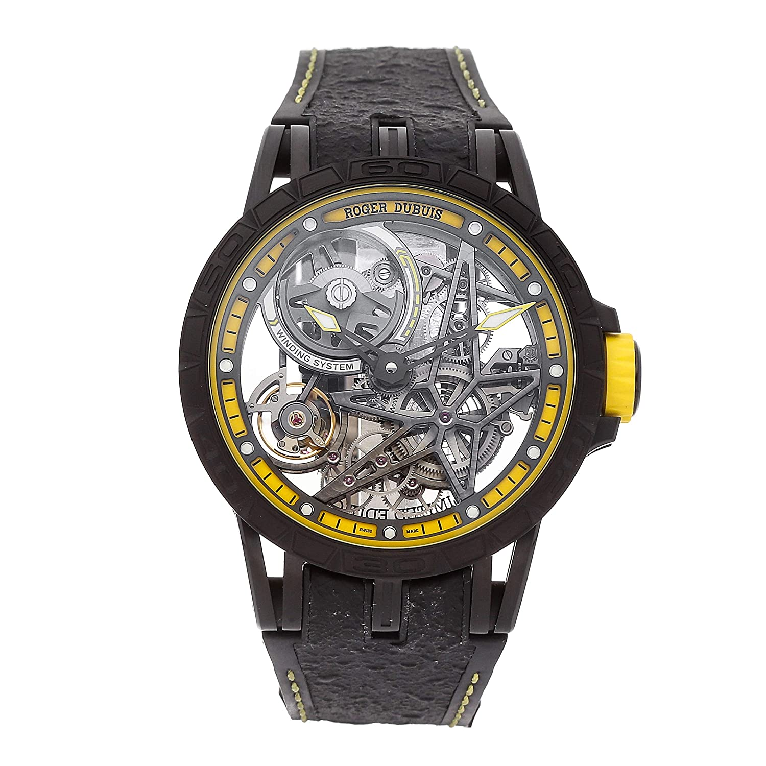 Roger Dubuis Excalibur Mechanical (Automatic) Skeletonized Dial Mens Watch DBEX0616 (Certified Pre-Owned)
