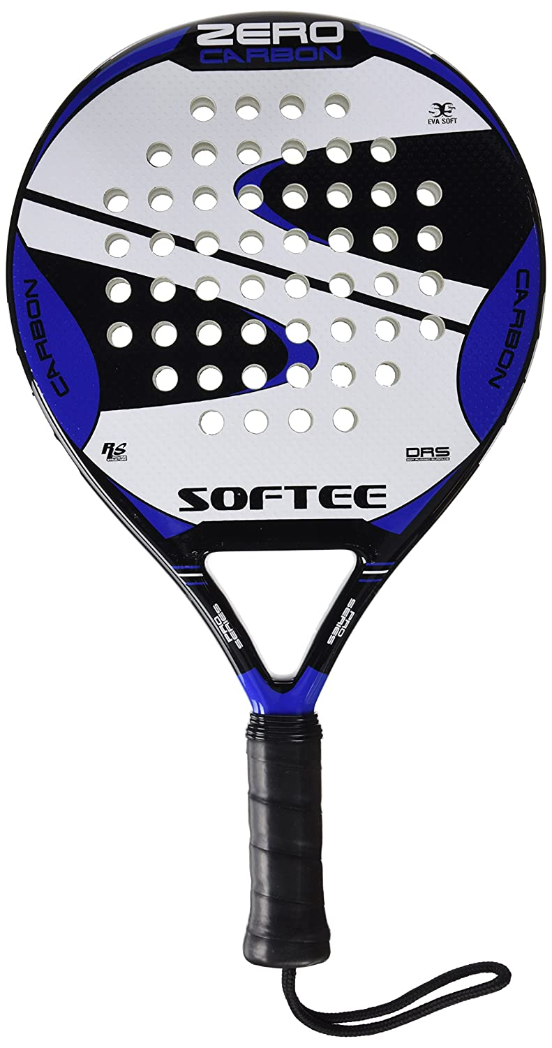 Softee 0013887 Pala pádel, Unisex, Negro/Blanco/Azul Royal, 38 mm: Amazon.es: Deportes y aire libre