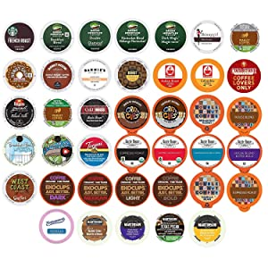 Coffee Variety PackSampler - Coffee Pods for Keurig K Cup Machine, 40 Count