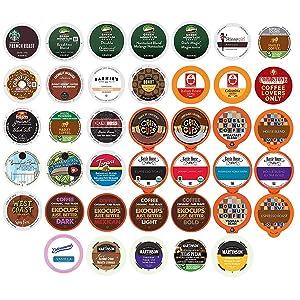 Coffee Variety PackSampler - Coffee Pods for Keurig K Cup Machine, 40 Count