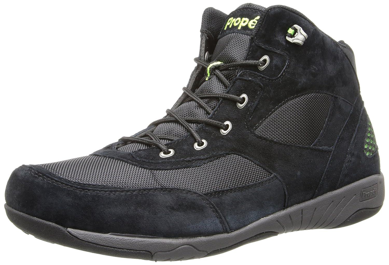 Propet Men's Mack Walking Shoe 11.5 D(M) US Black/Lime