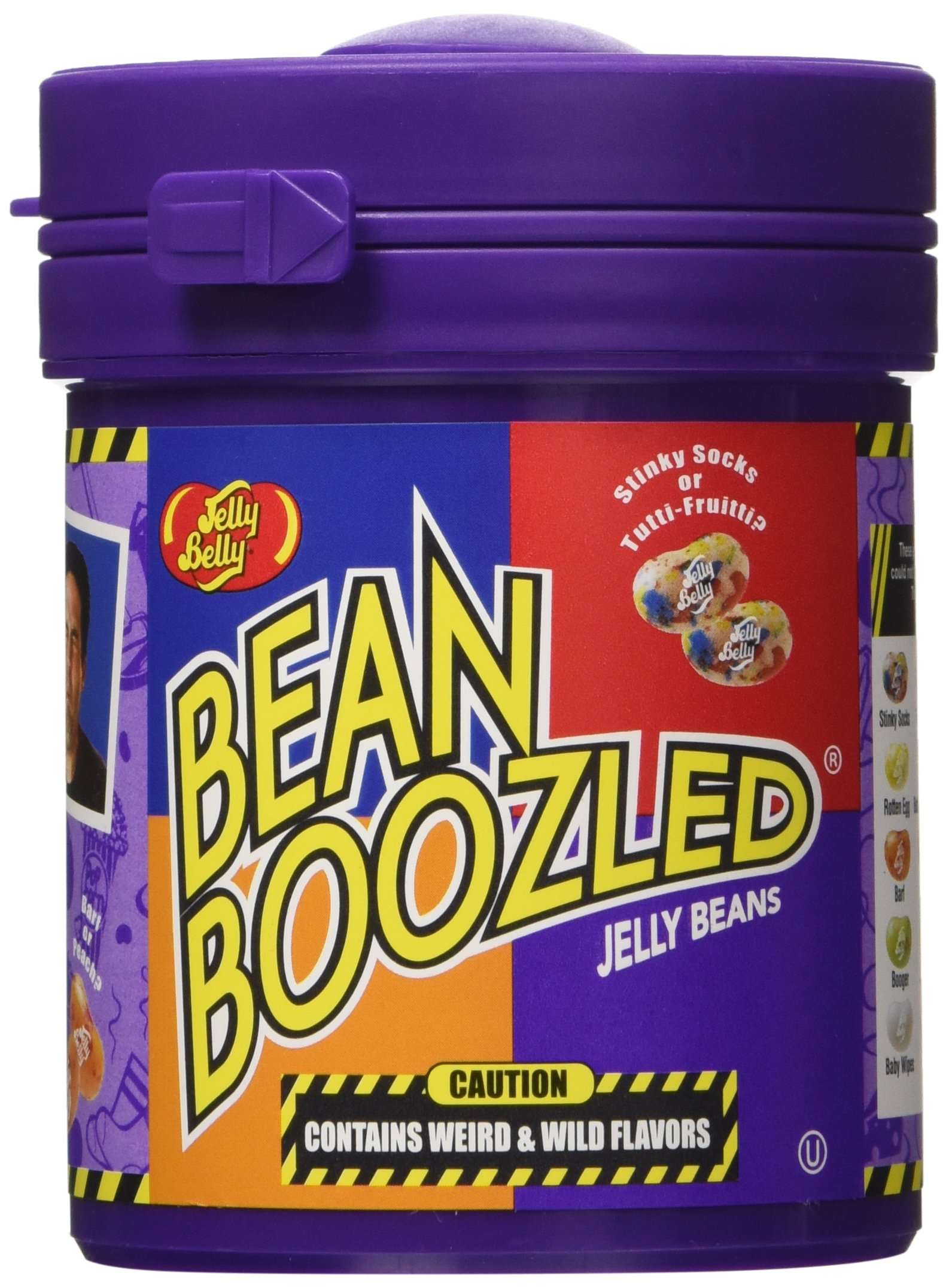 Jelly Belly 63965 3.5 Oz. Beanboozled Mystery Bean Dispenser (Pack of 3) by Jelly Belly (Image #1)