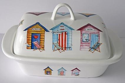 Diseño de caseta de playa patrón mantequilla plato – Fun diseño de casetas de playa en