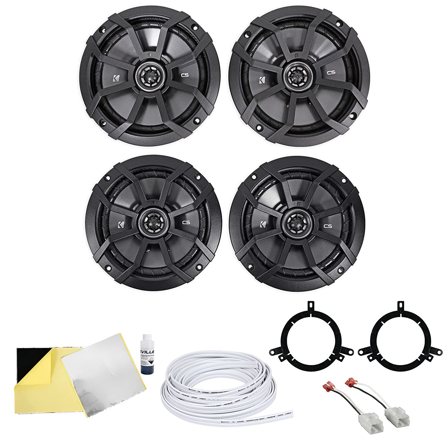 81f12ZZJZmL._SL1500_ amazon com jeep wrangler jk kicker speaker upgrade automotive  at soozxer.org