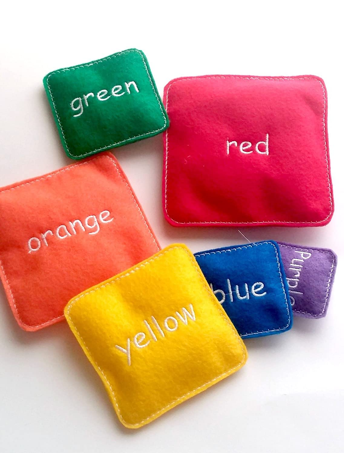 set includes 6 small pillows # 3920 Childrens stacking game