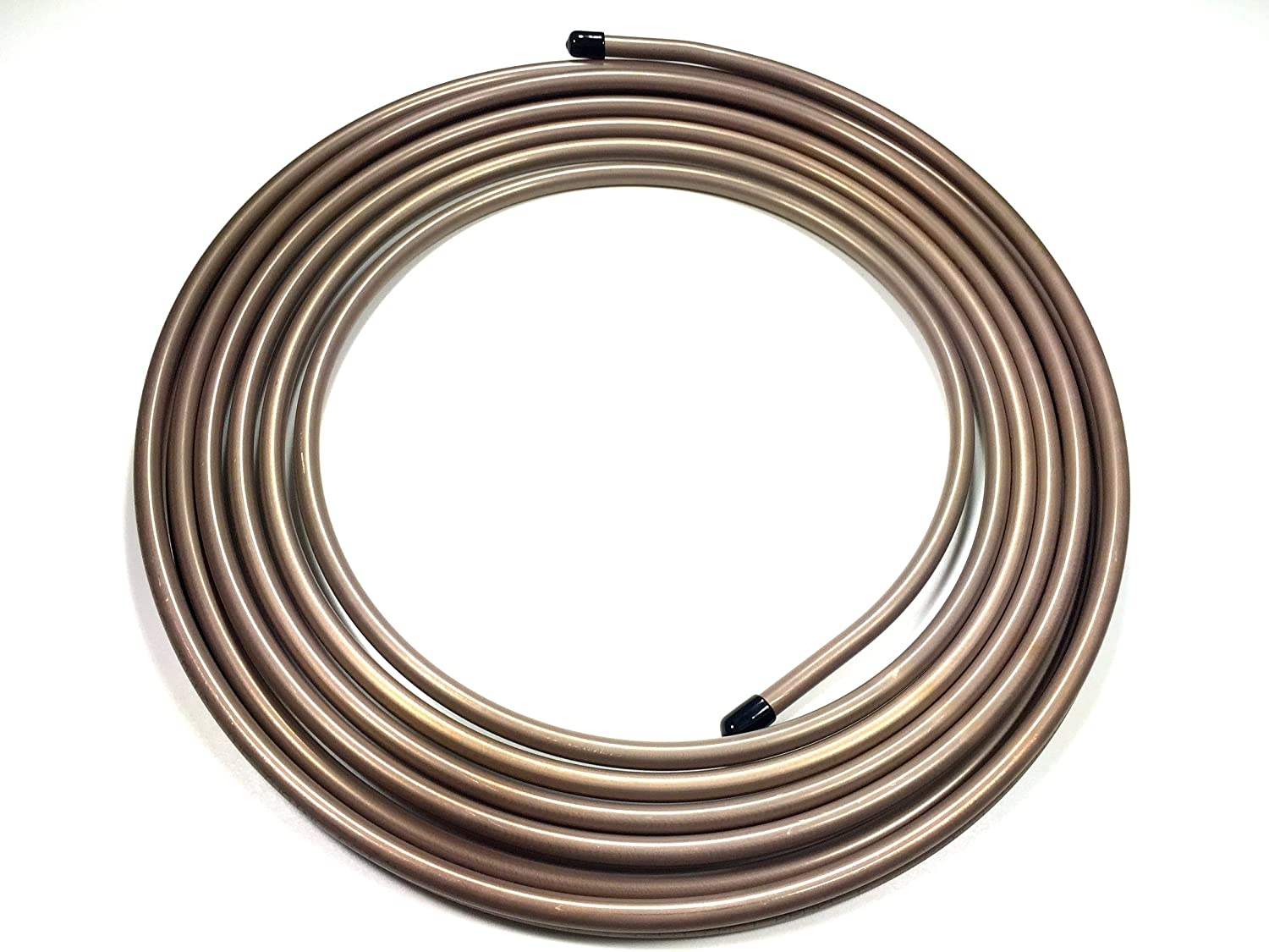 25 ft of Copper Nickel Fuel/Transmission Line Coil. 1/2' O.D. Tube thestopshop