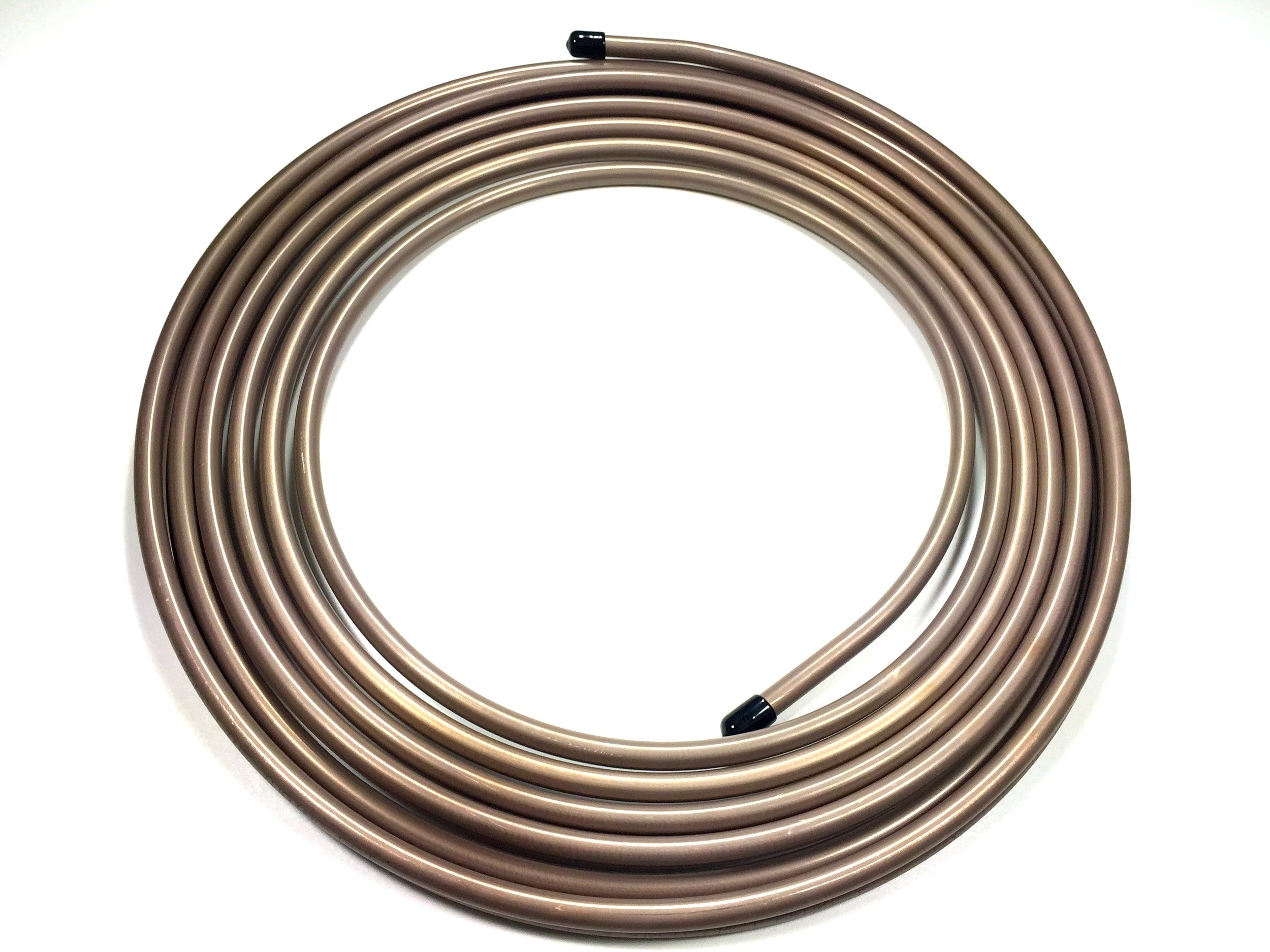Roll of 3/8'' Copper Nickel Fuel/Transmission Line (.375) 25 Feet by thestopshop