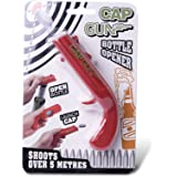 (Red) - Cap Gun Launcher Shooter Bottle Opener,Beer Openers - Shoots Over 5 Metres (Red)