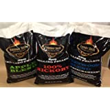 Lumber Jack 120 Pound BBQ Smoker Pellets Variety Pack - Pick 6 x 20-Pound Bags (See Description for Flavors)