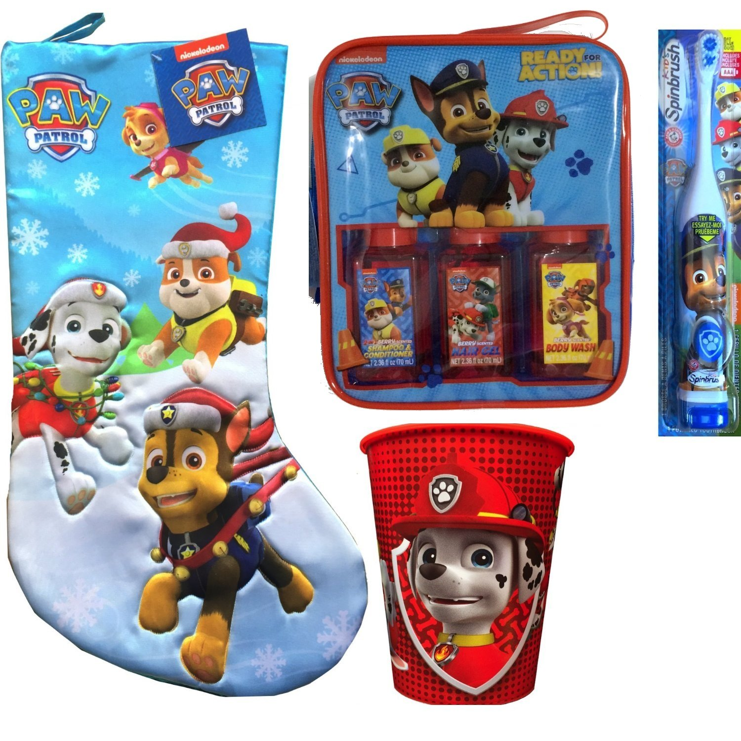 Paw Patrol Children's Stocking Stuffer Hygiene Gift Set