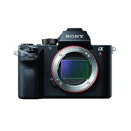 Sony Alpha A7RM2 42.4MP Digital SLR Camera (Black) Body Only (ILCE-7RM2) Digital SLRs at amazon
