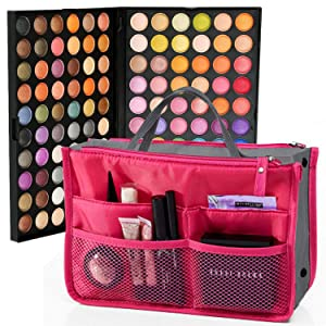 SLAM Beauty Eyeshadow Palette Makeup for Eyes 120 Colors to Shadow Great for Professional and Personal Use + Holiday Gift of a Free Complimentary Cosmetic Bag Organizer Perfect For Every Woman & Girl