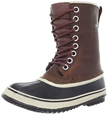 Sorel Women's 1964 Premium Leather Boot,Cappucino/Oxford Tan,5 ...
