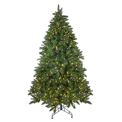 Northlight 7.5' Pre-Lit Mixed Scotch Pine Artificial Christmas Tree - Warm  White LED - Amazon.com: Northlight 7.5' Pre-Lit Mixed Scotch Pine Artificial