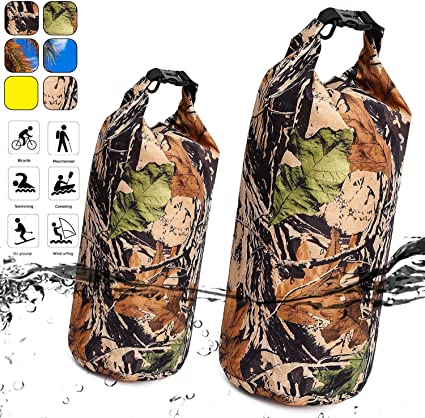 Outdoor Waterproof Canoe Swimming Camping Hiking Backpack Dry Bag Sack Pouch !