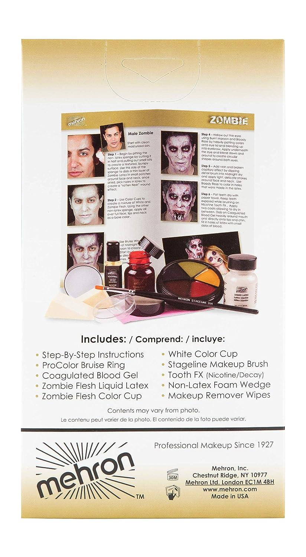 Mehron Makeup Premium Character Kit Evil J