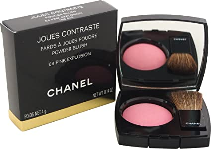 CHANEL Colorete Joues Contraste 64 Pink Explosion 4 Gr: Amazon.es: Belleza