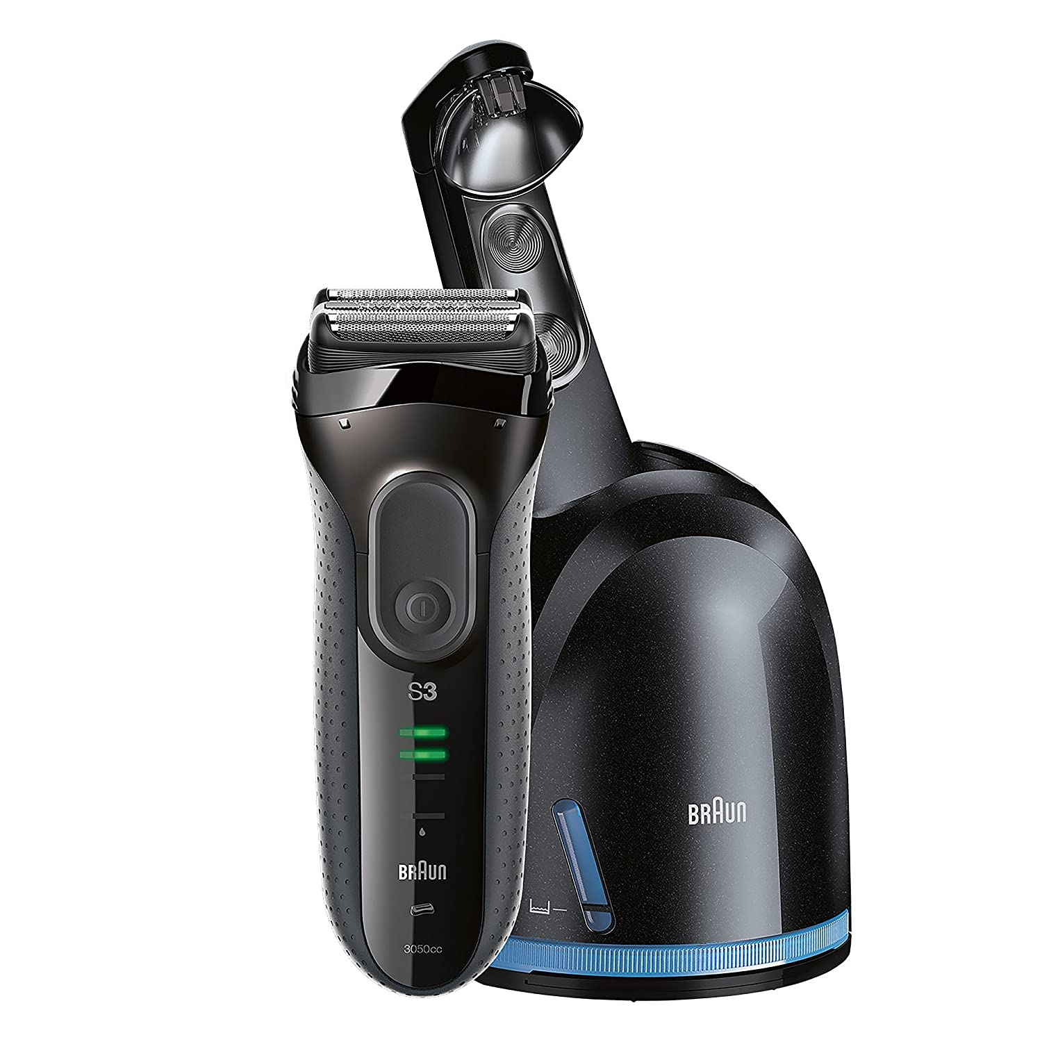 Braun 3050cc Male Shaver (Black/Grey)