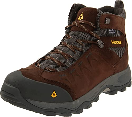 Vasque Men's Vista WP Hiking Boot,Slate Black/Old Gold,7 M US