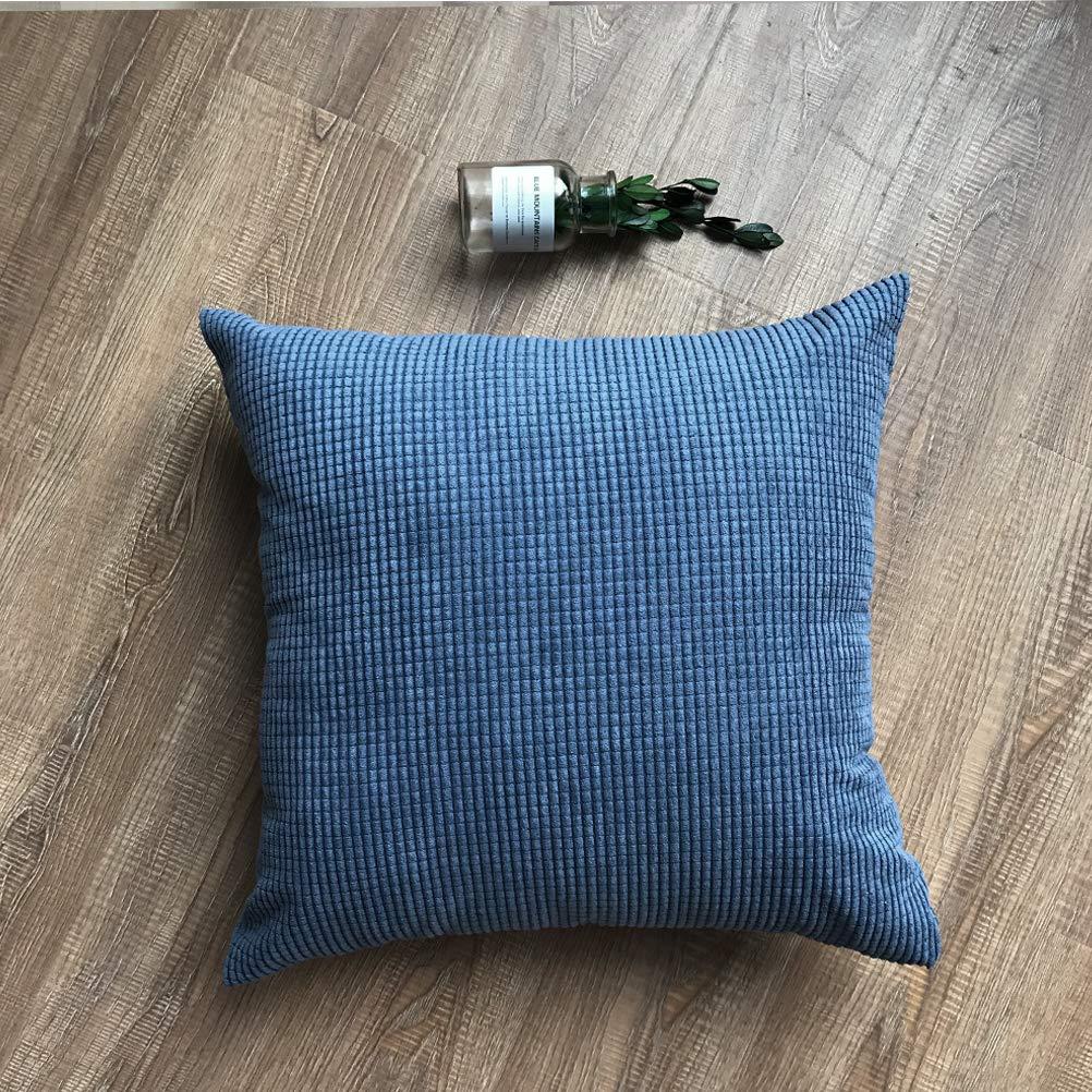 Kess InHouse Danny Ivan Feel Again Blue Red 26 Round Floor Pillow