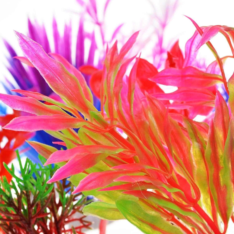 Amazon.com : COSMOS 10 PCS Color Aquarium Fish Tank Decorative ...
