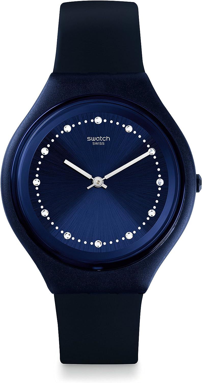 Swatch Skin Quartz Movement Blue Dial Unisex Watch SVUN100