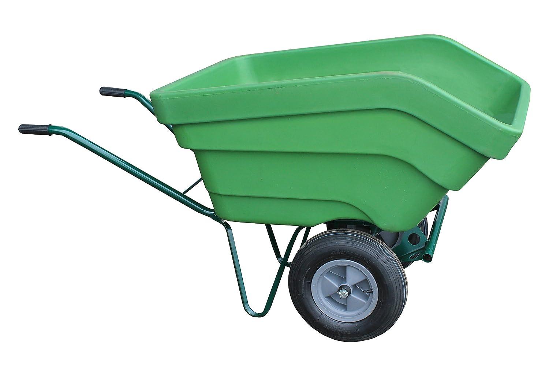 Carrimore King Wheelbarrow, Assembled, Green