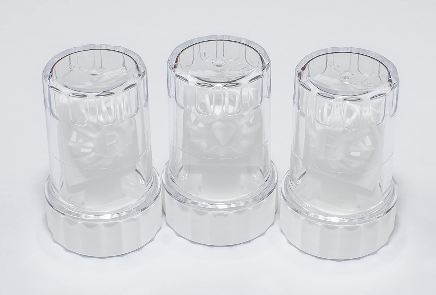 Sports Vision's Contact lens Cases - Standard Barrel Type 3 Pieces CE Marked & FDA Approved Sports Vision World