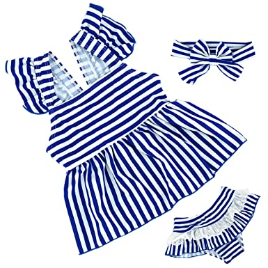 HONISEN Girls Two Pieces Tankini Swimsuits Hawaiian Ruffle Swimwear Bathing Suit Set