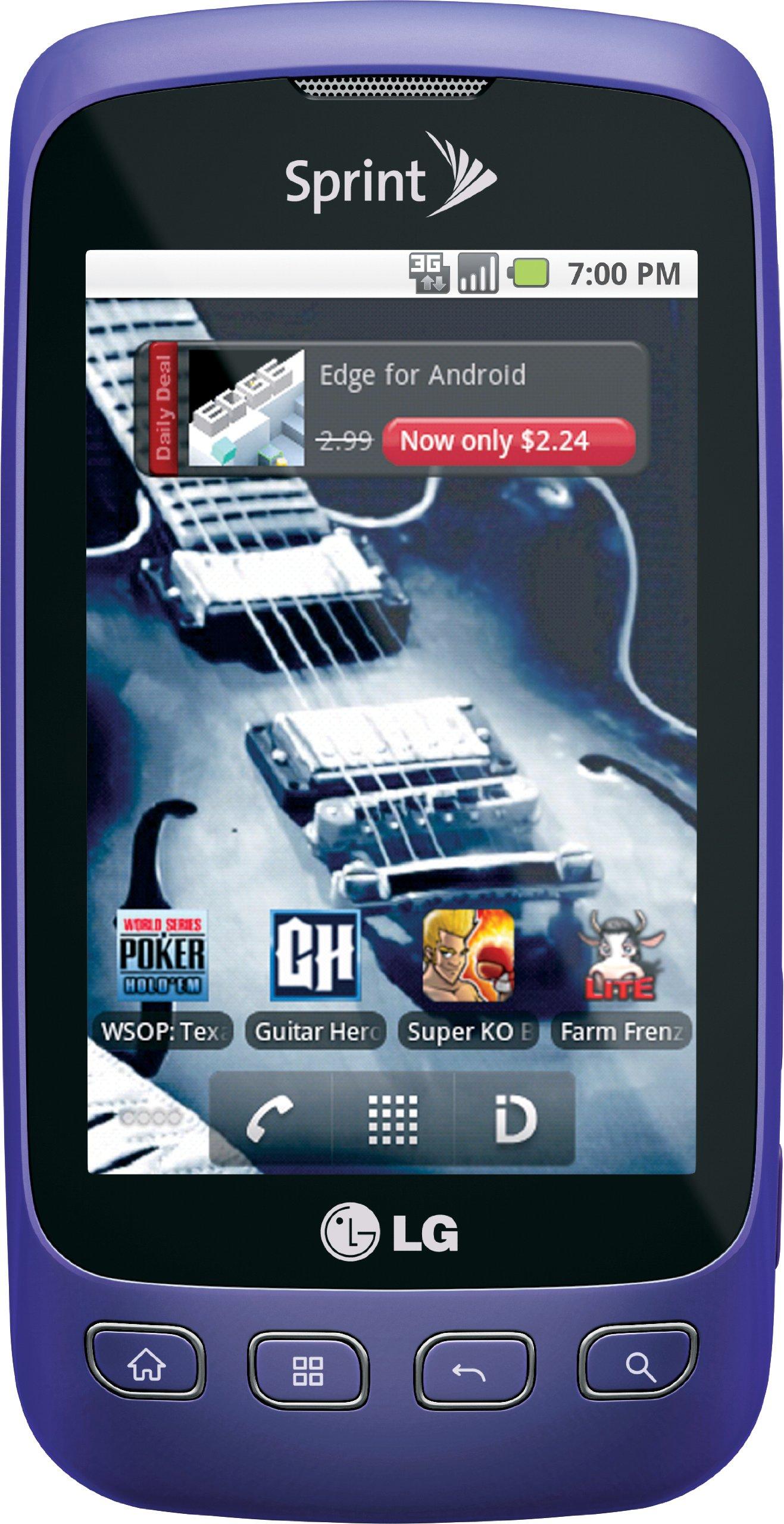 LG Optimus S, Purple 2GB (Sprint)