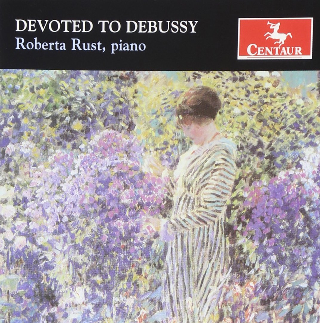 CD : Roberta Rust - Devoted To Debussy (CD)