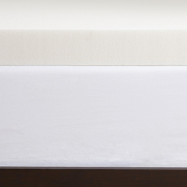 Serta - Sobrecolchón viscoelástico de 8 cm,1 kg de densidad: Amazon.es: Hogar