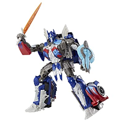 Transformers: The Last Knight Premier Edition Voyager Class Optimus Prime: Toys & Games
