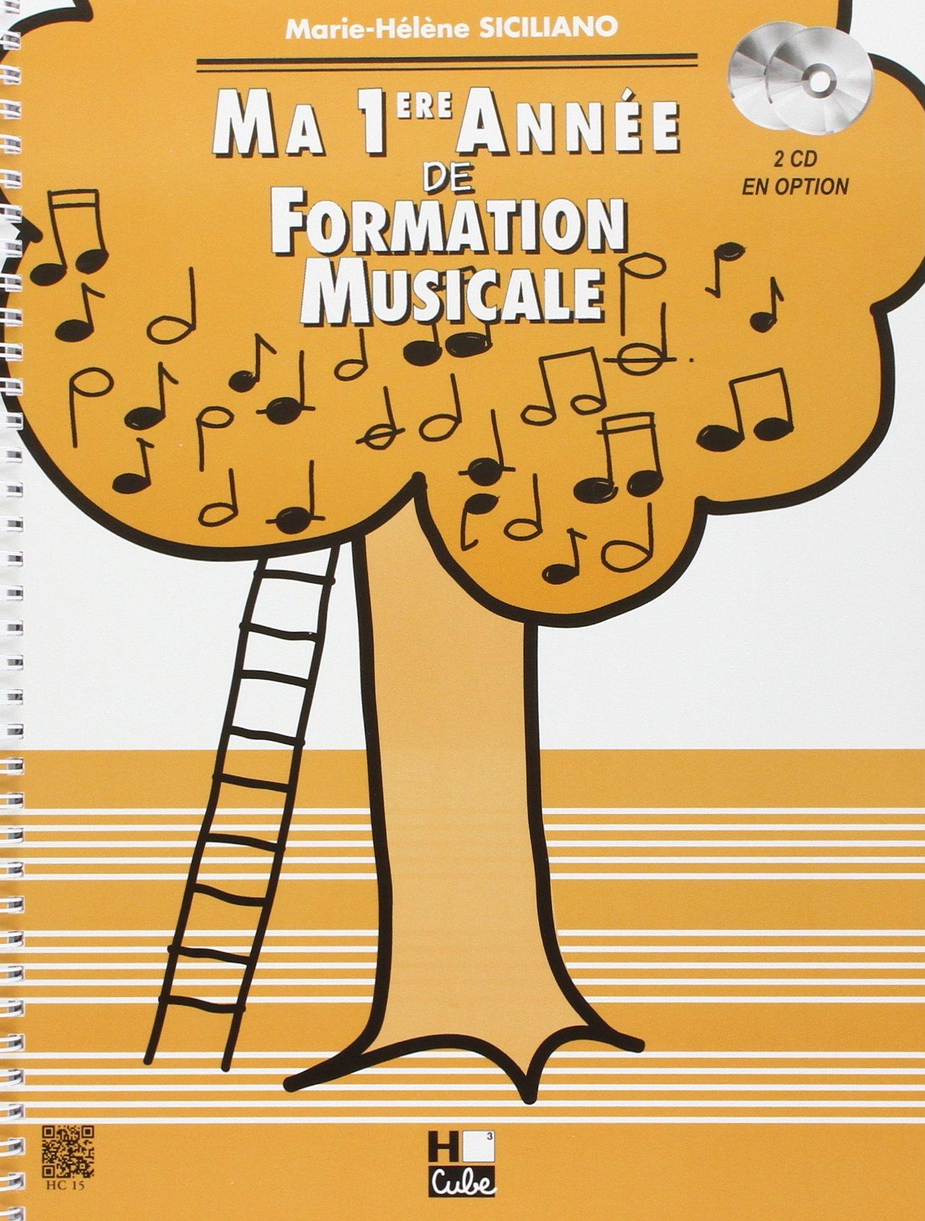 Ma 1ère année de formation musicale Partition – 6 septembre 1995 Marie-Hélène Siciliano H Cube B000ZGDN08 Musique