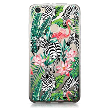 CASEiLIKE® Funda Redmi Note 5A, Carcasa Xiaomi Redmi Note 5A, Animal Tropical 1801, TPU Gel Silicone Protectora Cover