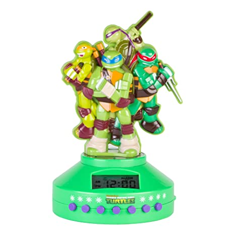 Tortugas Ninja Reloj Despertador: Amazon.es: Electrónica