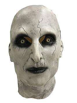 SDT Máscara Halloween Valak The Nun Cosplay Monja Mask Diablo para Hombres Mujeres en Halloween Carnaval