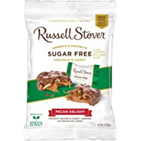Russell Stover Sugar-Free Pecan Delight, 3 Ounce Peg Bag (Pack of 12)