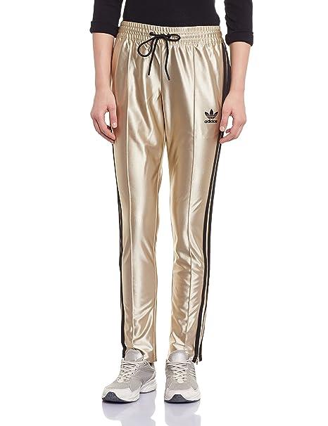adidas - Pantalón deportivo - para mujer amarillo dorado ...