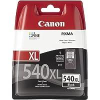 Canon PG-540XL Cartuccia Originale Getto d'Inchiostro ad Alta Resa, 1 Pezzo, Nero
