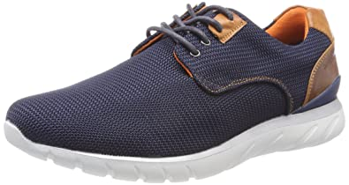 Herren 342305056900 Sneaker, Blau (Dark Blue), 42 EU Bugatti