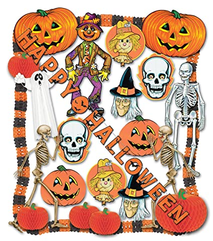 halloween decorating kit 24 pcs party accessory 1 count